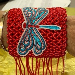 Accessories - Macrame wide bracelet